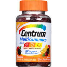 Centrum MultiGummies Multivitamin/Multimineral Supplement