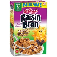 Kellogg's Raisin Bran Omega-3 from Flaxseed Cereal