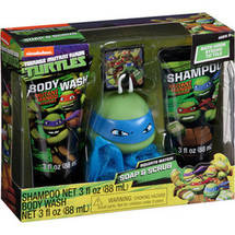 Nickelodeon Teenage Mutant Ninja Turtles Mutant Mango Scented Soap & Scrub Set