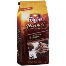 Folgers Gourmet Selections Mocha Swirl Ground Coffee