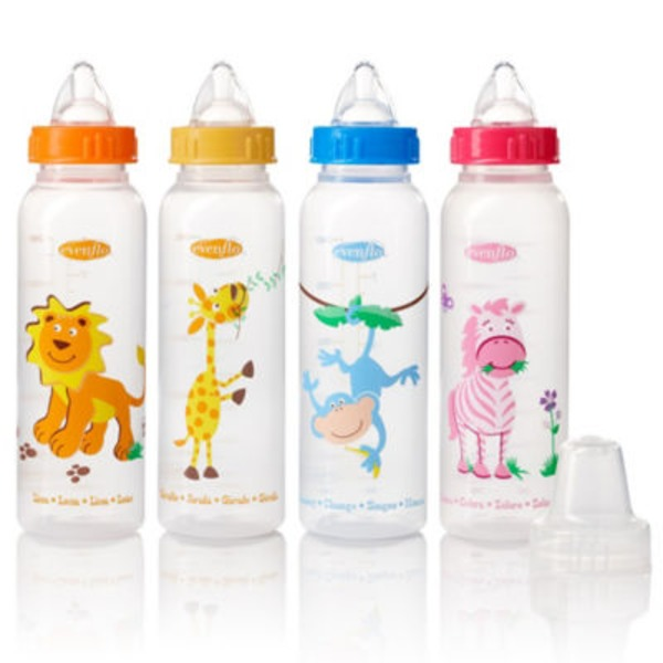 Evenflo Zoo Friends Baby Bottles
