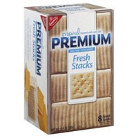 Nabisco Fresh Stacks Premium Saltine Crackers, Original
