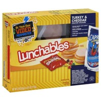 Oscar Mayer Lunchable Turkey Cheddar