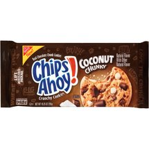 Nabisco Chips Ahoy! Coconut Chunky Chocolate Chunk Cookies