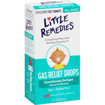 Little Tummys by Little Remedies Berry Gas Relief Drops