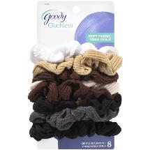 Goody Ouchless Soft Fabric Scrunchies
