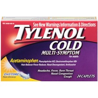 Tylenol® Adult Non-Drowsy Day Caplets Pain Reliever/Fever Reducer