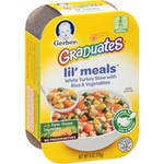 Gerber Graduates Lil; Meals White Turkey Stew with Rice ; Vegetables