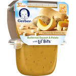 Gerber 3rd Foods Butternut Squash & Potato Vegetable Puree with Lil' Bits