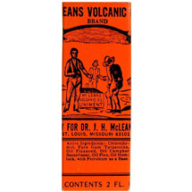 Dr. J.H. McLean's Volcanic Oil Pain Relief Liniment