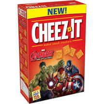 Cheez-It Marvel Avengers Age of Ultron Baked Snack Crackers
