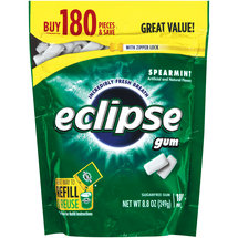 Eclipse Spearmint Sugarfree Gum Refill