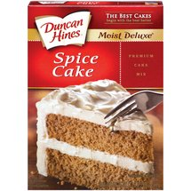 Duncan Hines Moist Deluxe Spice Cake Mix
