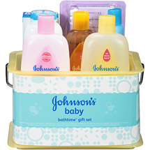 Johnson's Bathtime Essentials Baby Gift Set