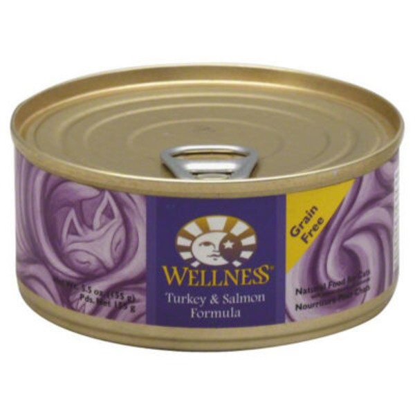 Wellness Natural Food For Cats Turkey & Salmon