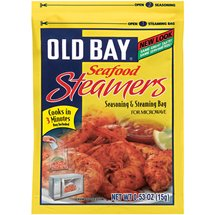 Old Bay Seasoning & Steaming Bag Seafood Steamers