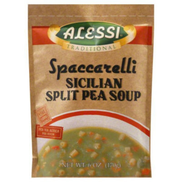Alessi Traditional Spaccarelli Sicilian Split Pea Soup