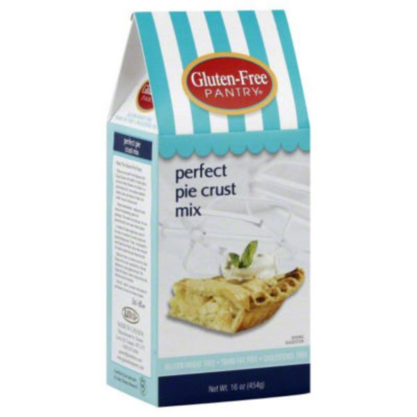 Glutino Gluten Free Pantry Perfect Pie Crust Pie Crust Mix