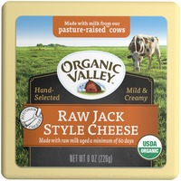 Organic Valley Raw Jack Style Cheese