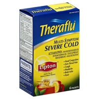 Theraflu Multi-Symptom Severe Cold Packets Pain Reliever/Fever Reducer