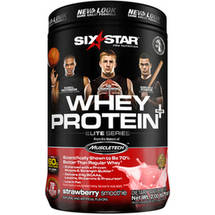 Six Star Whey Protein Powder Strawberry