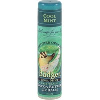 Badger Cool Mint Cocoa Butter Lip Balm