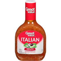 Great Value Zesty Italian Dressing & Marinade