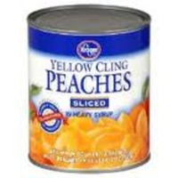 Kroger Sliced Yellow Cling Peaches In Heavy Syrup