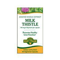 Herb Pharm Milk Thistle Cleanse & Detoxify 280 Mg, v-caps