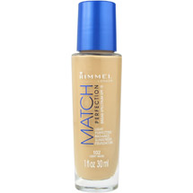 Rimmel Match Perfection Light Perfecting Radiance Sunscreen Foundation 102 Light Nude