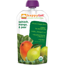 Happy Baby Happy Tot Organic Spinach Mango & Pear