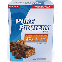 Pure Protein Chocolate Peanut Butter High Protein Bars