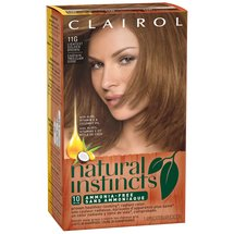 Clairol Natural Instincts Haircolor Amber Shimmer Lightest Golden Brown