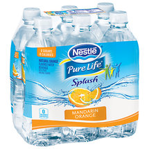 Nestle Splash Mandarin Orange Water Beverage
