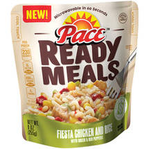 Pace Ready Meals Fiesta Chicken and Rice