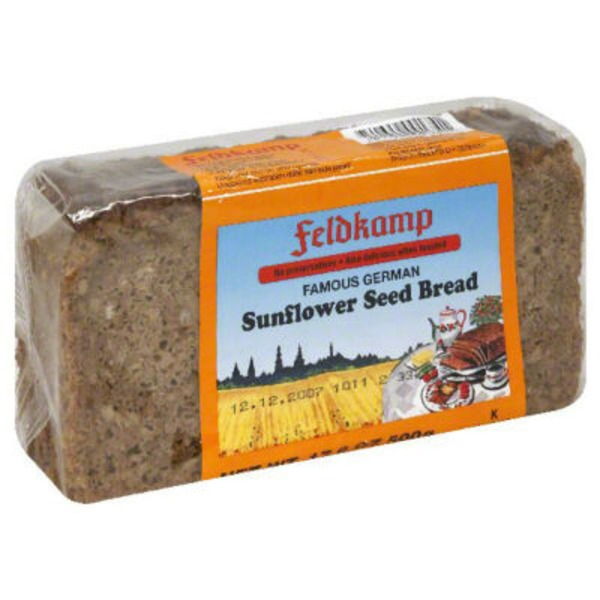 Delba Bread, Sunflower Seed