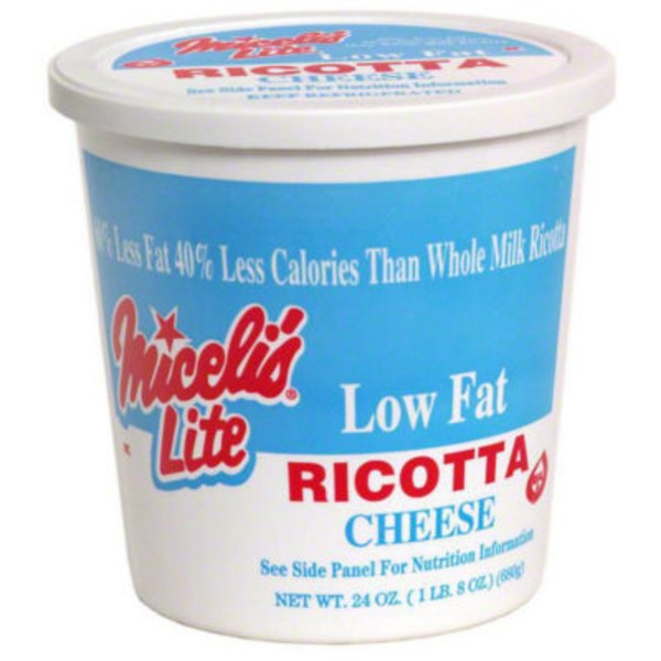 Miceli's Lite Ricotta Low Fat Cheese
