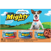Mighty Dog Loaf Variety Pack Dog Food