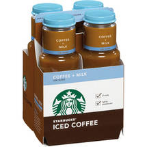 Starbucks Coffee + Milk Low Calorie Iced Coffee
