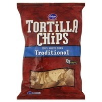 Kroger Traditional 100% White Corn Tortilla Chips