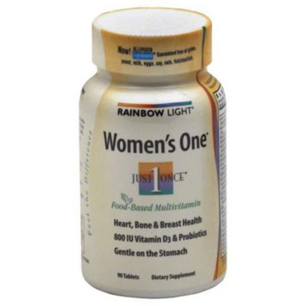 Rainbow Light Women's One Food-Based Multivitamin - 90 CT