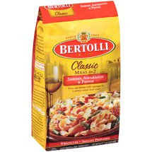Bertolli Classic Meal for 2 Shrimp Asparagus & Penne