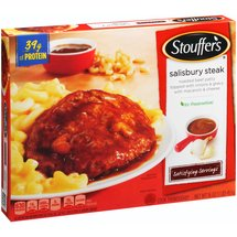 Stouffer's Satisfying Servings Salisbury Steak