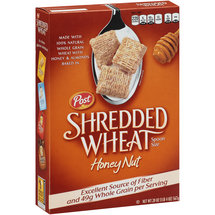 Post Shredded Wheat Honey Nut Spoon Size Cereal