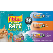 Friskies Original Loaf Variety Pack Cat Food