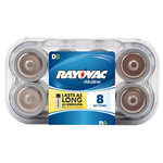 Rayovac Alkaline Value Pack D Batteries