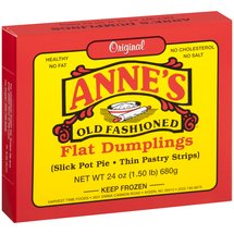 Anne's Old Fashioned Flat Thin Pastry Strips Dumplings