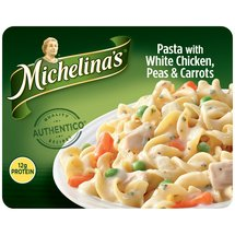 Michelina's Pasta with White Chicken Peas & Carrots