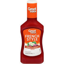 Great Value Sweet & Tangy French Style Dressing