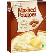 Great Value Mashed Potatoes